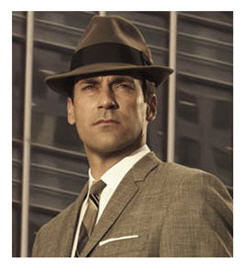 Don Draper character performed by Jon Hamm