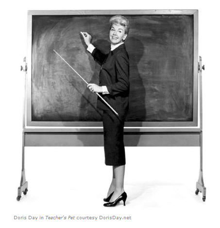 Doris Day in Teachers Pet