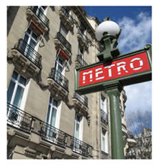 Paris metro courtesy lost in France