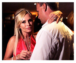 Real Housewives of OC Tamra and Simon courtesy Bravo TV