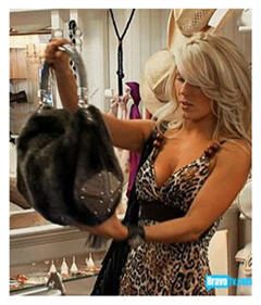 Real Housewives of OC - a little cardio shopping to boost GNP!
