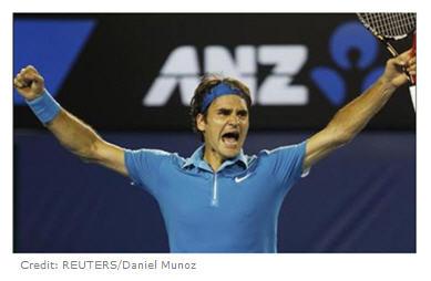 Roger Federer wins Australian Open 2010