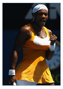 Serena Williams toughs it out in two tie breaks at Australian Open to move on to the finals