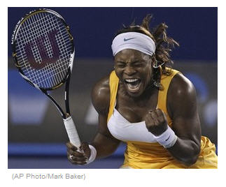Serena Williams wins Australian Open 2010 in 3 sets