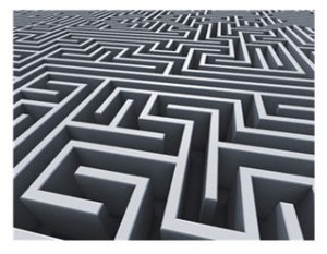A nightmare may be a labyrinth, a maze in which we find ourselves repeatedly, and still without exit.