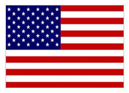 American flag (yep, we're there!)