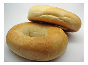 Bagels and cream cheese? Well, the bagels got a thumbs up. Cream cheese - not so much.