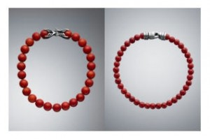David Yurman Red Coral Spiritual Bead Bracelets for Men (as a woman, I love them, but not on my man).