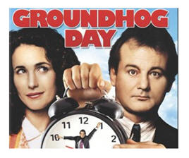 Groundhog Day. If you could turn back time and tweak a day, would you?