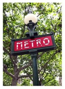 Paris metro system