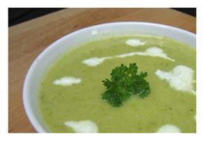 Potato leek soup - to slurp or not to slurp?
