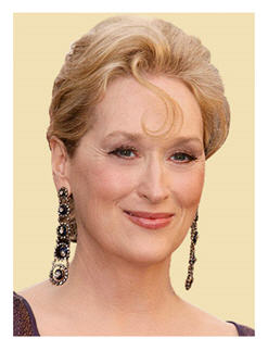 Academy award winning actress Meryl Streep: 25 nominations and only 2 wins?
