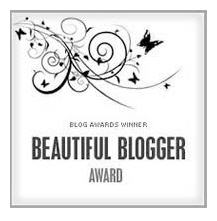 Beautiful Blogger Award from Suzicate
