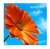Sunshine Award from Eva Evolving