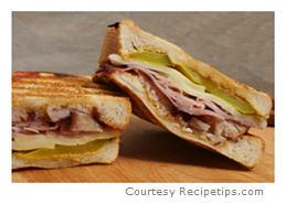 Grilled Cuban Sandwich