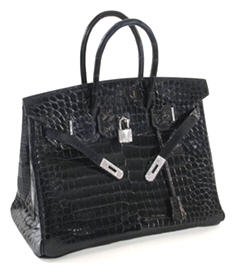 Hermès Diamond Crocodile Berkin