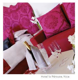 Hotel la Pérouse Nice France chambre
