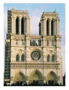 Paris Notre Dame courtesy WikiMedia