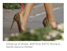Sarah Jessica Parker shoes Sex and the City 2