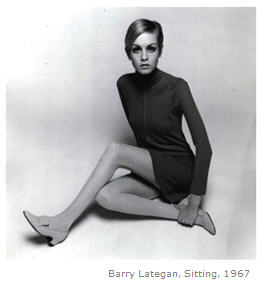 Twiggy 1960s mini skirt