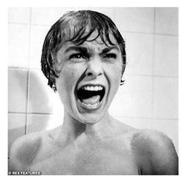 Psycho shower scene famous scream