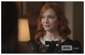 Christina Hendricks as Joan on Mad Men AMC TV