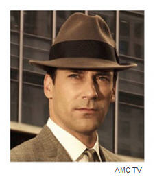 Mad Men's Jon Hamm as Don Draper