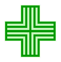 French Pharmacie Symbol