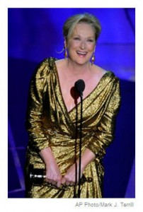 Meryl Streep Oscars 2012 AP Photo