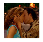 Thumbnail Carrie and Aidan Kissing