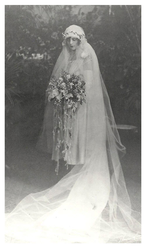 ELB Wedding Dress 1926