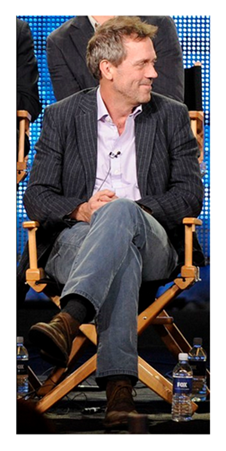 Hugh Laurie as Dr House wiki