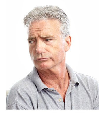 Man With A Skeptical Expression Royalty Free Stock Images - Image ...
