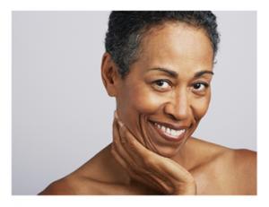 Beautiful Midlife African American Woman