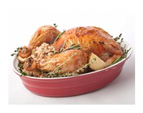 Thanksgiving Turkey with fresh Rosemary