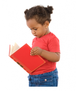 Preschool Child Reading