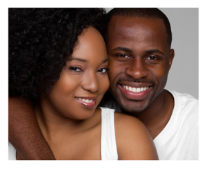 Romantic African American Couple