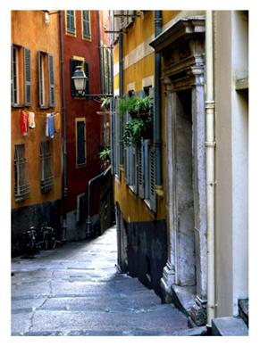 Street in Old Nice