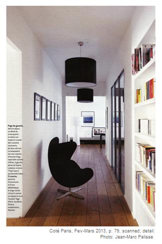 Coté Paris Interior with Egg Chair