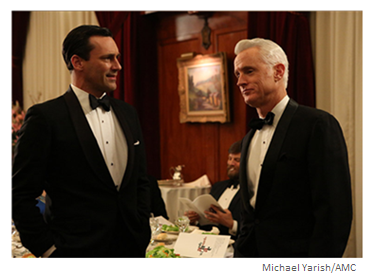 Mad Men Season 6 Episode 5 Don and Roger