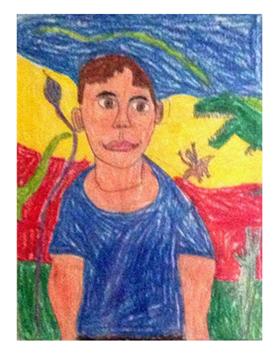 Child's Portrait Age 6