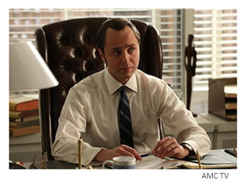 Mad Men Season 6 Episode 9 Pete in the office