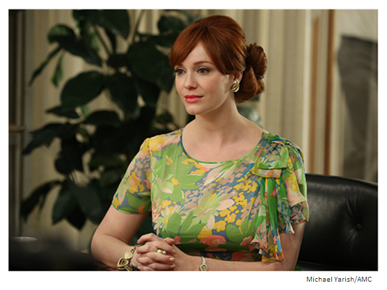 Mad Men Season 6 Episode 10 Joan the morning after Avon