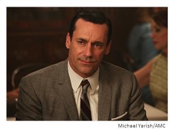 Mad Men Season 6 Episode 11 Don Scowling