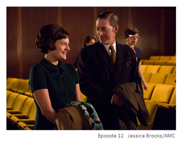 Peggy and Ted Season 6 Episode 12 Mad Men