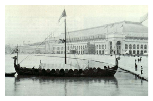 Replica of Viking Ship Chicago World's Fair 1893