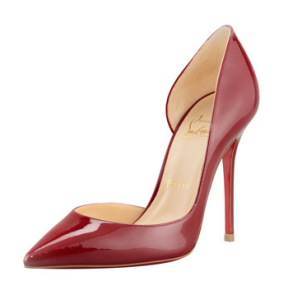 Louboutin Iriza Pointed-Toe D'Orsay Pump