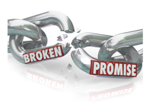 Broken Promises in Relationship