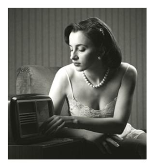 Sexy Woman Vintage Lingerie
