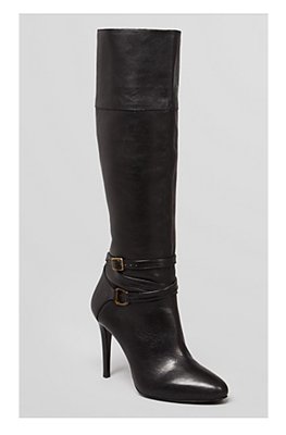 SHOES Ralph Lauren Tall Dress Boot